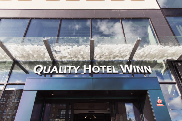 "Quality Hotel Winn Haninge – ""we did it!"""